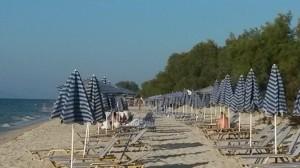Les parasols de Marmari