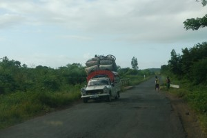 Sur la route de Nosy be
