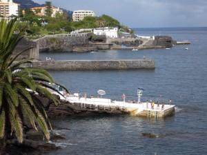 La côte aux environs de Funchal