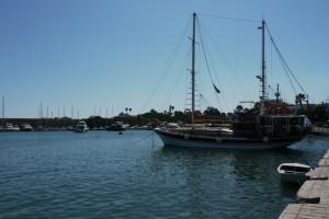 Le port de la ville de Kos