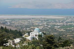 La côte vue du village de Zia