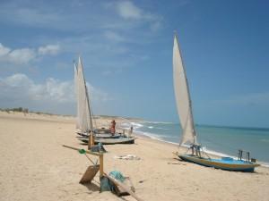 La plage de Galhinos
