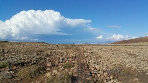Chemin vers le Calderon de Hondo