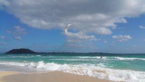 Sports nautiques et eaux cristallines