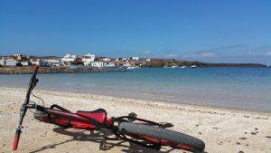 Le village de pêcheur de Majanichos sur Fuerteventura