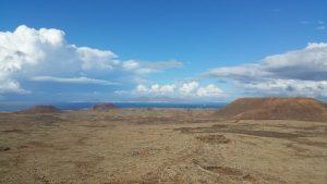 Lanzarote vue du Volcan