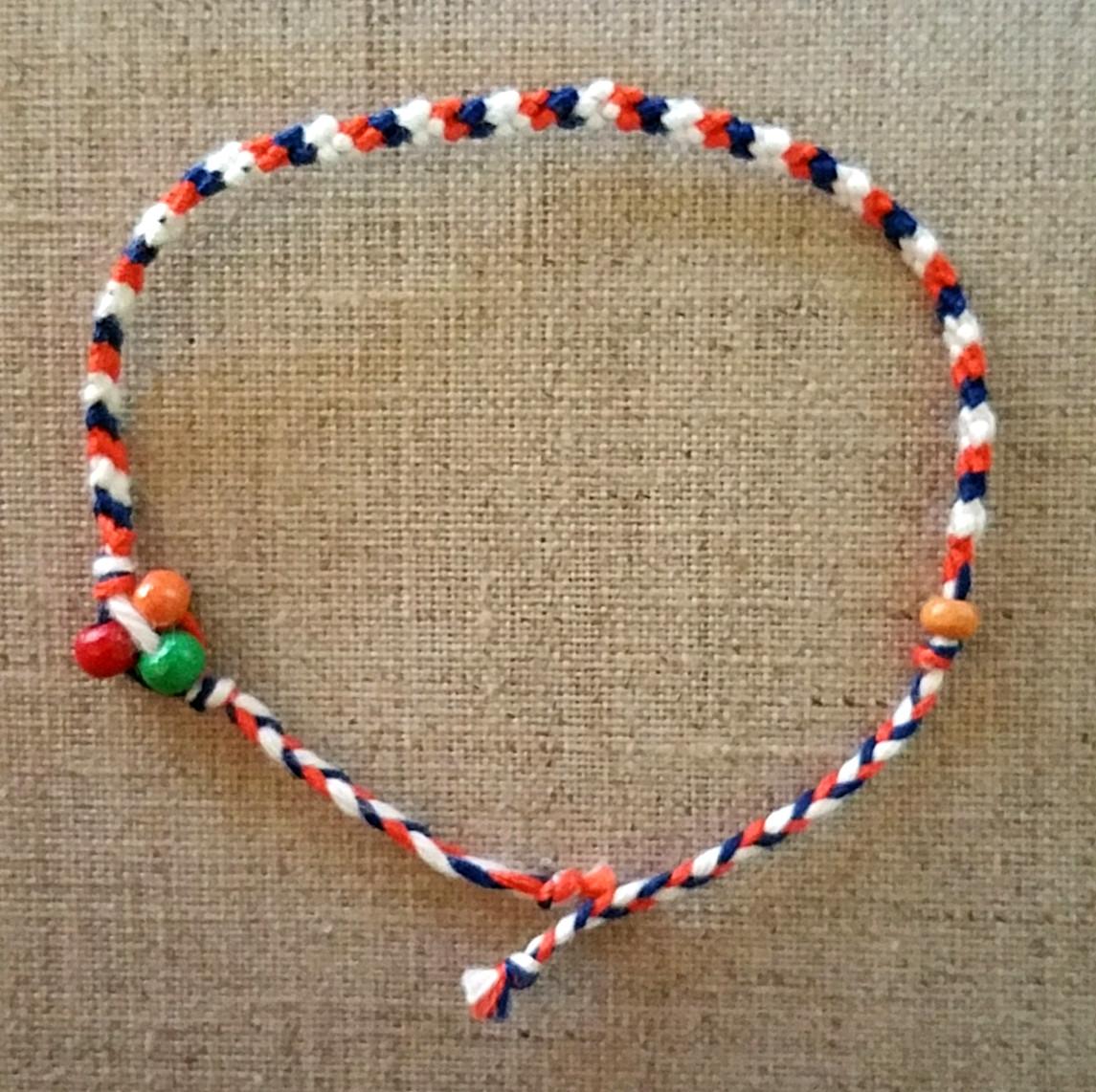 bracelet bresilien rouge