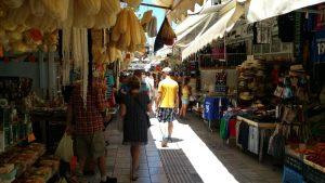 La rue marché à Héraklion
